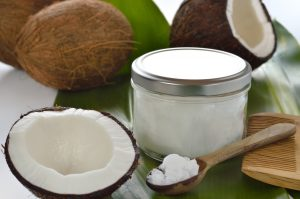 Coconut oil can be used overnight to add moisture to your dry hair