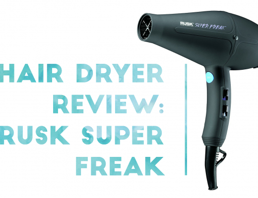 Rusk Super Freak Hair Dryer Review