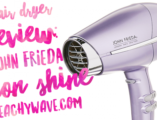Hair Dryer Review: John Frieda Salon Shine