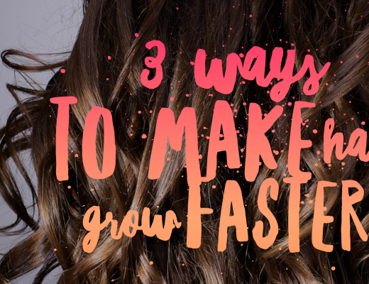 3 Ways to Make Hair Grow Faster