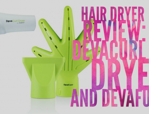 Hair Dryer Review: DevaCurl Dryer and Devafuser